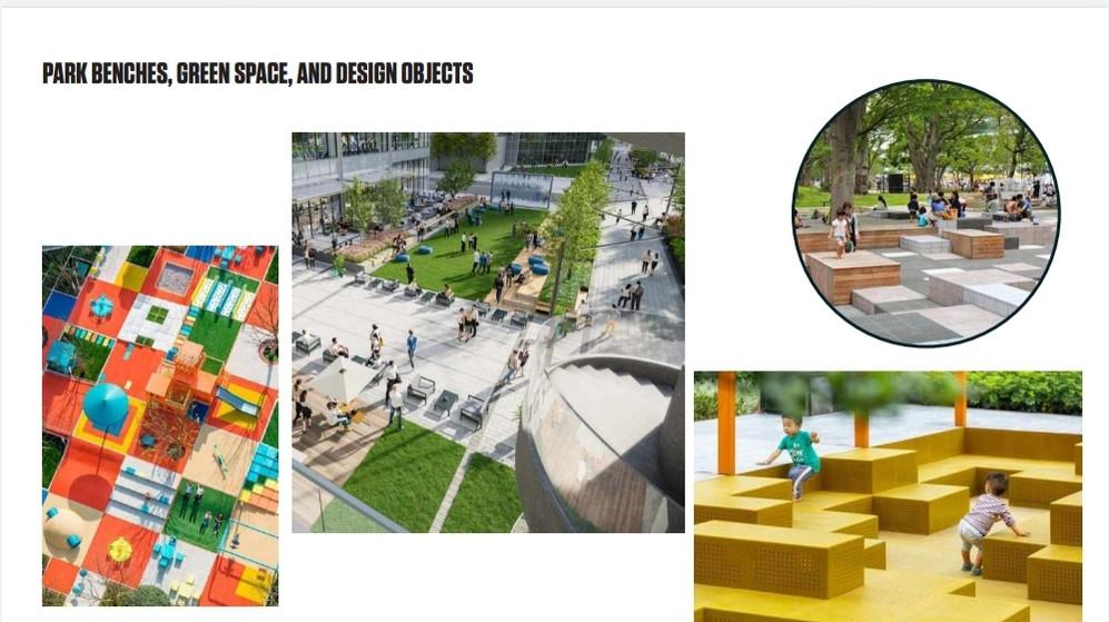 Urban Park Elements
