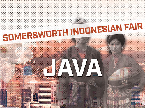 SIF JAVA POSTER 24X18