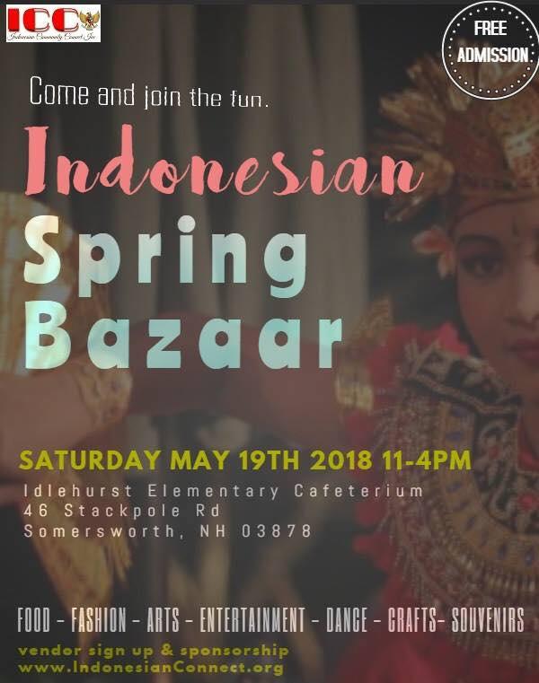 Indonesian Spring Bazaar 2018