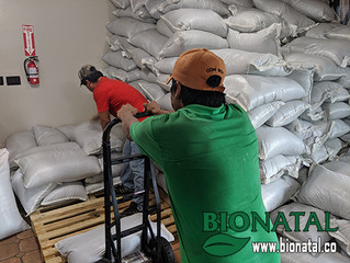 BioNatal received 10 tons of seeds