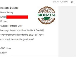 BioNatal is fantastic oil