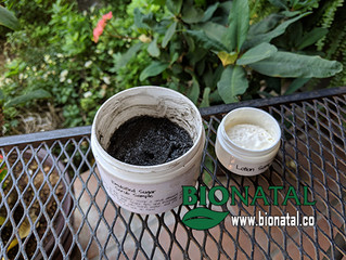 Black seed oil scrub and lotion