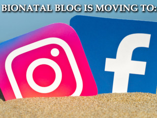 BLOG is moving to FB & Insta