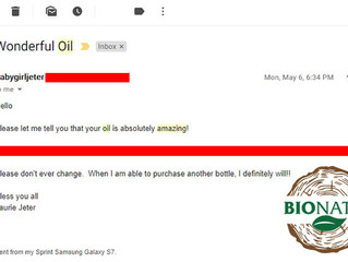 BioNata oil is amazing!
