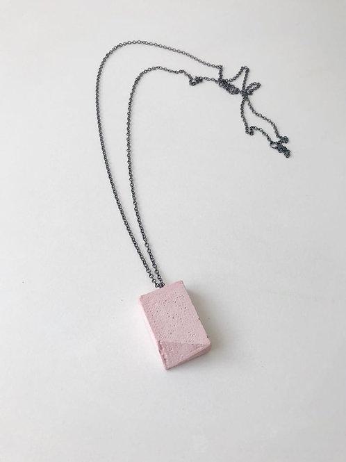 Colar Corbusier mini - Rosa