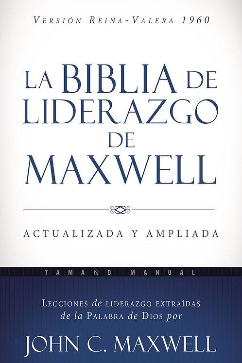 La Biblia de liderazgo de Maxwell RVR60