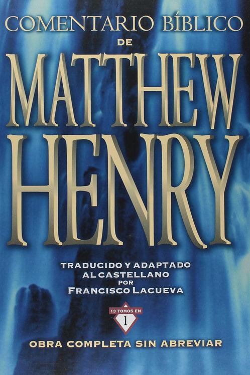 Comentario Bíblico Matthew Henry