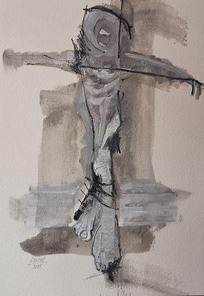 Crucifixion 1 Delphine ALLIENS.jpg
