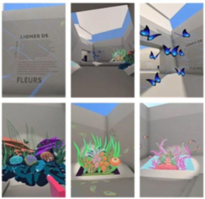 The MOR Exhibit - Lignes de Fleurs
