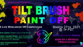 Tilt Brush Paint Off