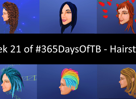 Week 21 of #365DaysOfTB – Hairstyles