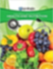 Fruit cover books the explores Creation with Health and Nutrition Course offered through Christian Home Schooling.