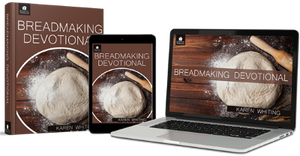 Breadmaking Devotional banner depicts Home School Breadmaking Curriculum from Christian Living.