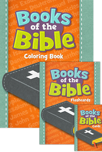 Bible facts cards has a colorful illustration on the front, and the back features key facts about each book's author, date of writing, key people, main message, and what each book reveals about God and his character Christian Home Schooling