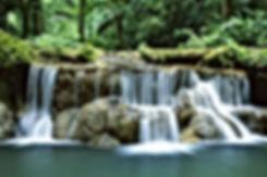beautiful water fall green living home school online