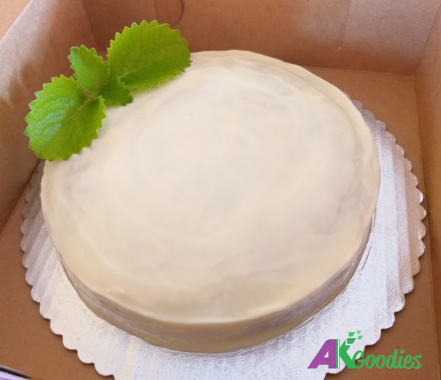 Single Layer Carrot Cake With Cream Cheese Frosting