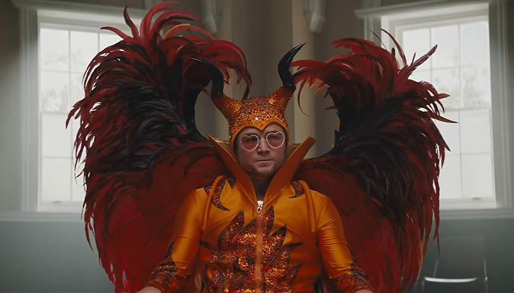 Taron Egerton stars as Sir Elton John at the height of the musician's fame and addiction.