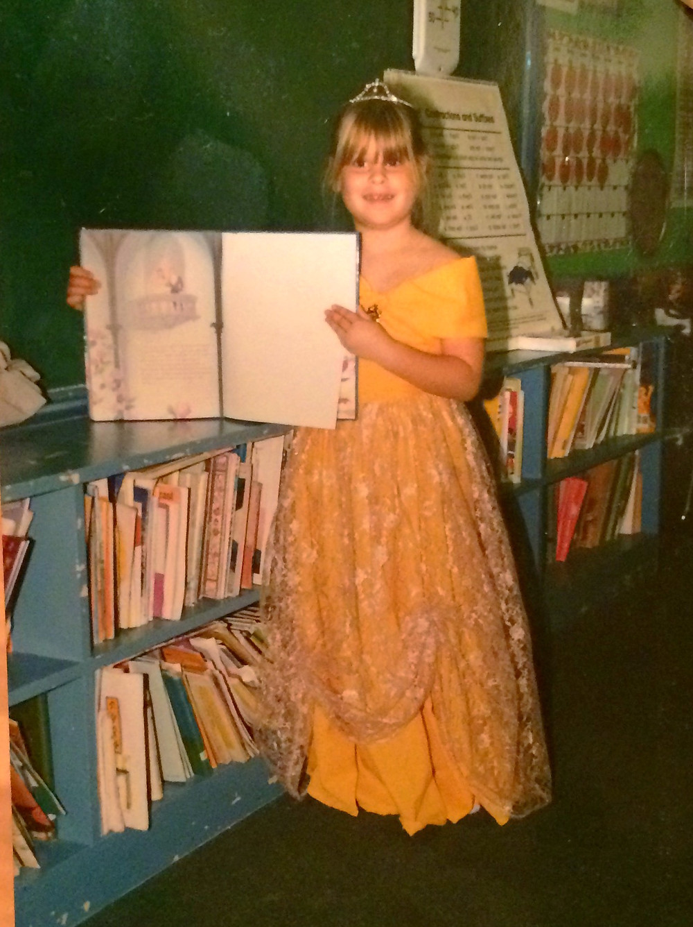 Who's excited for Beauty and the Beast? This kid.