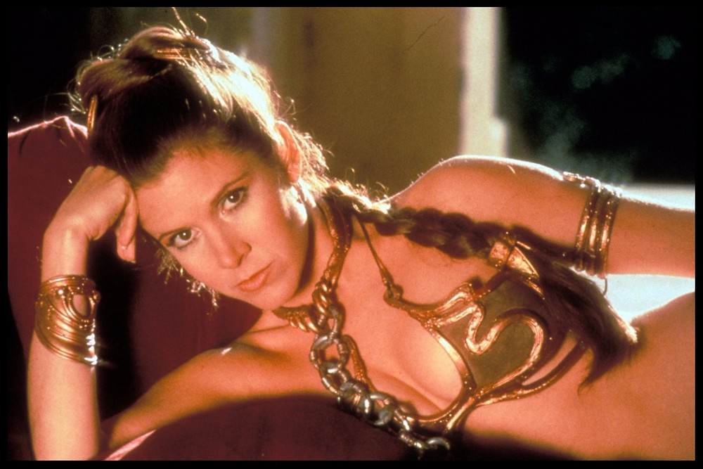 Carrie Fisher in 'Star Wars: Episode VI Return of the Jedi' (1983) ©Lucasfilm