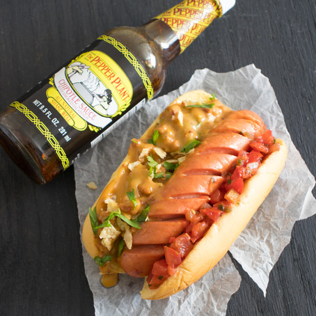 Queso Fundido Hot Dogs