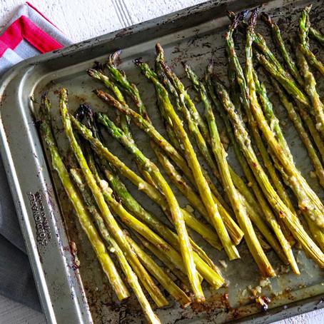 Mustard Roasted Asparagus