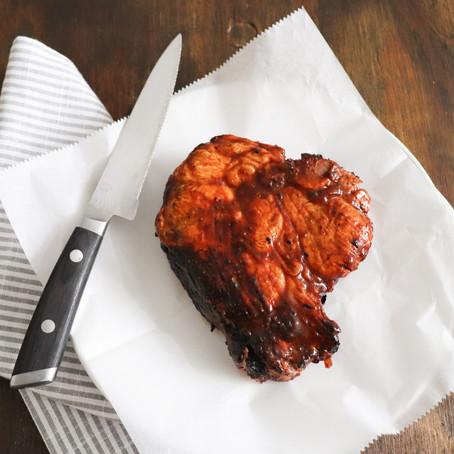 Caveman Pork Chops