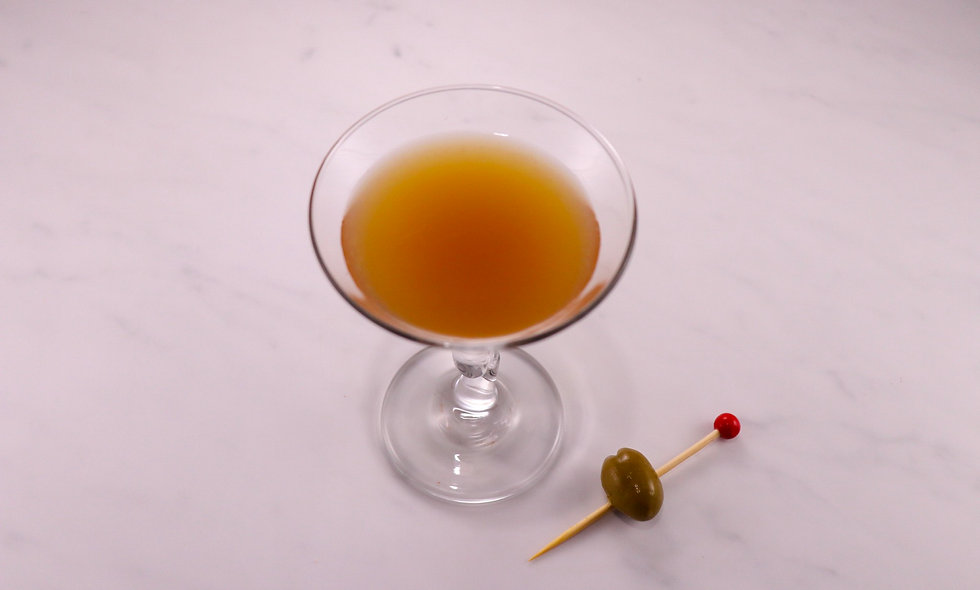 Spicy Dirty Martini Mix