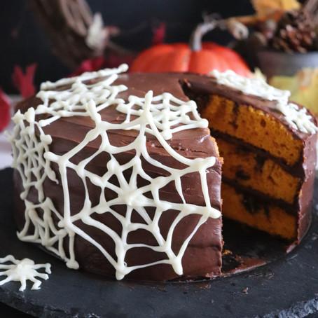 Maple Balsamic Pumpkin Cake