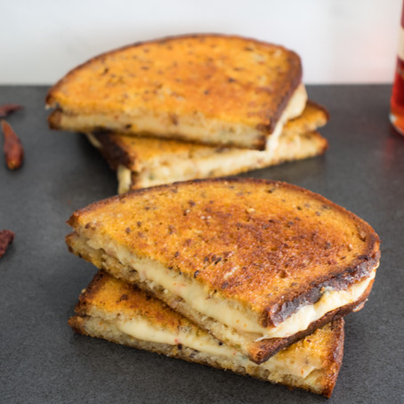 Triple Pepper Grilled Cheese