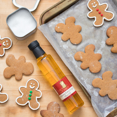 Olive Oil Gingerbread Cookies