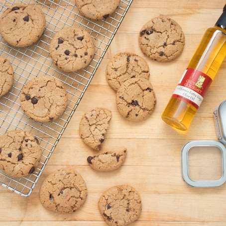 California Olive Oil Chocolate Chip Cookies