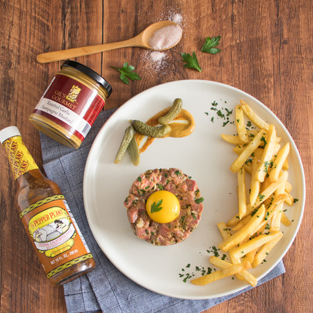 Beef Tartare with EVOO Frites