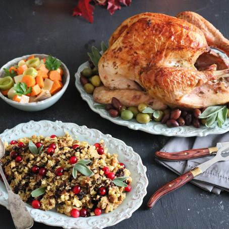 Tapenade Rubbed Turkey