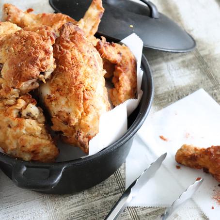 Cowboy Brined Fried Chicken