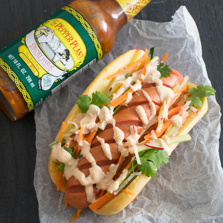Vietnamese-Style Hot Dogs