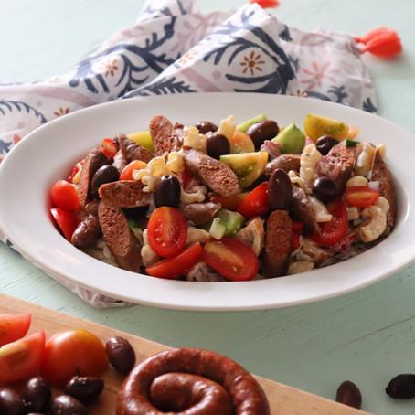 Gyro Pasta Salad