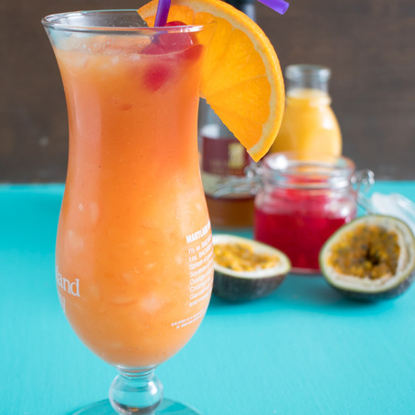 Classic New Orleans' Hurricane Cocktail