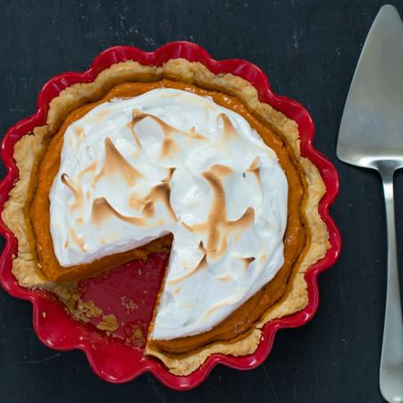 Sweet Potato Pie with Meringue