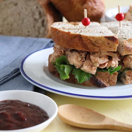 Bacon Chipotle Garlic Chicken Salad