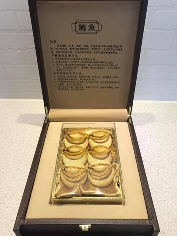 CNY Abalone Gift set