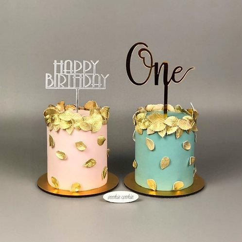 Fondant Cake - 307