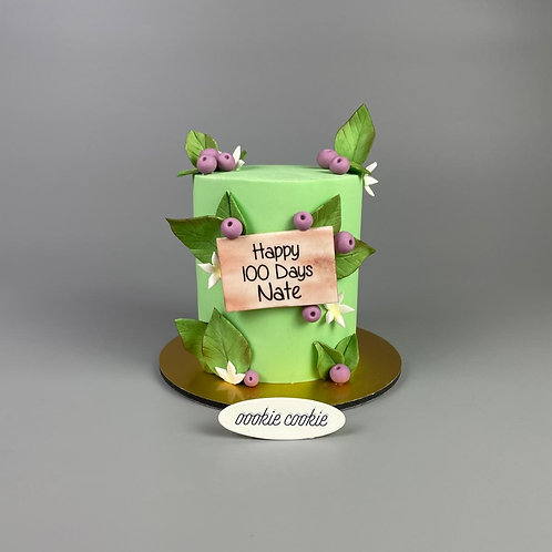 Fondant Cake - 343