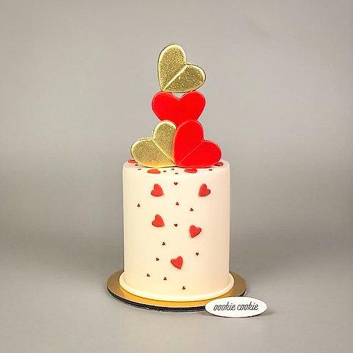 Fondant Cake - 314