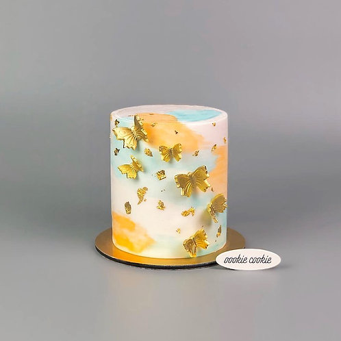 Fondant Cake - 323