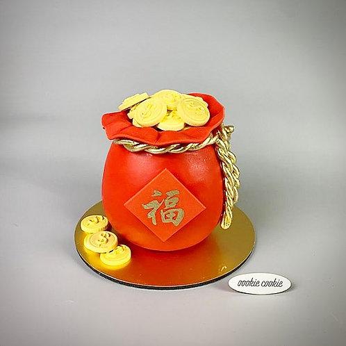 Fondant Cake - 350