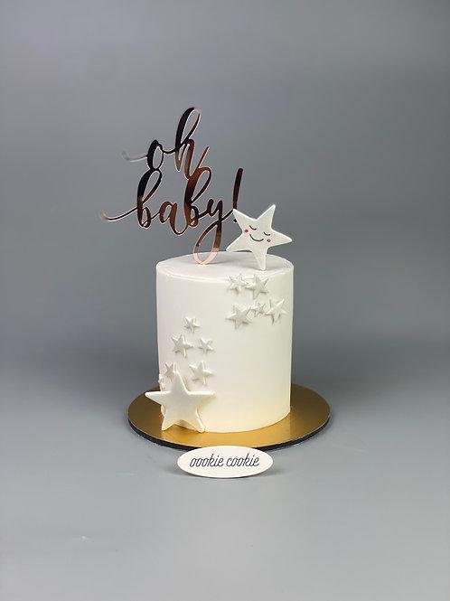 Fondant Cake - 347