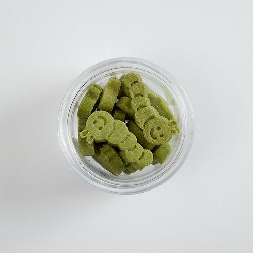 Butter Green Worm Shortbread - 913