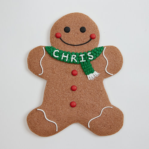 XL Cookie - A1 gingerbread man