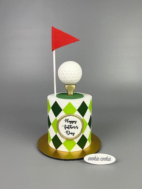 F02 Golf Cake
