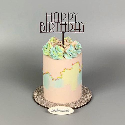 Buttercream Cake - 214